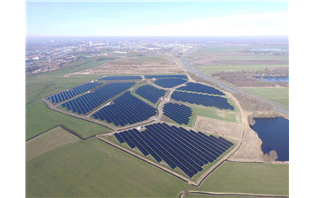 Hanergy launches largest thin-film solar power industrial park in Netherlands