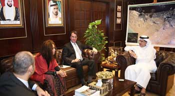 DEWA shares best experiences and practices with Schneider Electric
