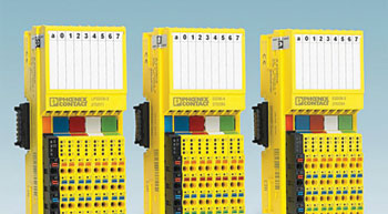 Axioline F I/O system now with SafetyBridge technology by Phoenix Contact