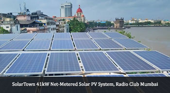 SolarTown installs net-metered solar rooftop system at Bombay Presidency Radio Club