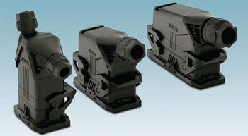 Heavy-duty connectors for confined spaces by Phoenix Contact