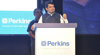 Perkins Aurangabad facility inaugurated by CM Fadnavis