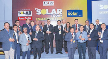 1st Solar Today Awards 2016
