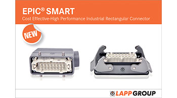 LAPP India launches EPIC® SMART industrial connectors