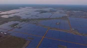 Adani sets up worlds largest solar plant in India