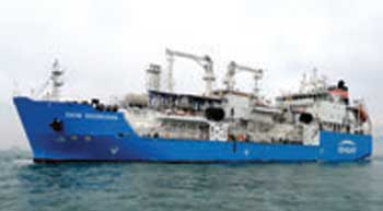 LNG bunkering vessel delivered to Busan, SK