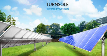 Fully-integrated single axis solar tracking system 'Turnsole' launched
