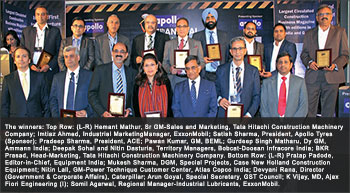 5th EQUIPMENT INDIA Annual Awards