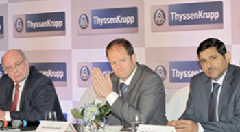 Thyssenkrupp joins The ´Make in India´ mission