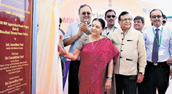 Guj CM lays foundation of Wanakbori power plant