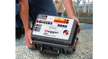 Megger´s MRCT test set is compact, fast and versatile