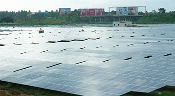Work on solar power plant from January 21