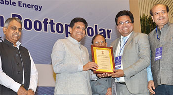 Vikram Solar wins National Excellence Award