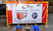 Cooper Corporation Pvt. Ltd successfully exports its first batch of  Gensets to Ukraine in Europe