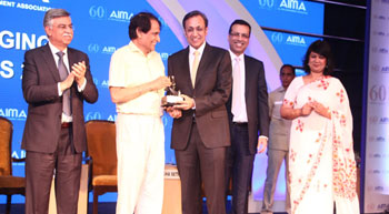 Havells India CMD conferred Emerging Business Leader Award 2017 by AIMA