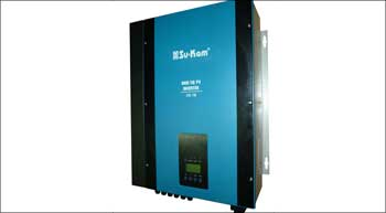 New solar grid-tie inverter can be powered by solar and mains