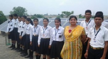 Agra school goes solar after reeling under power crisis