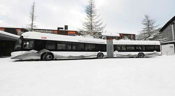 ABB and City of Davos to drive sustainable mobility via e-vehicle